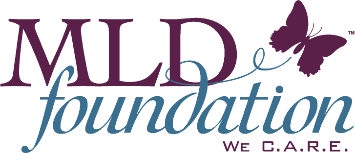 MLD Foundation butterfly logo